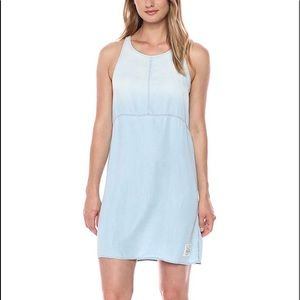 Calvin Klein Chambray Dress Light Blue
